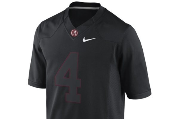 Alabama Denies That They'll Be Wearing 'Blackout' Jerseys Listed on Their Site