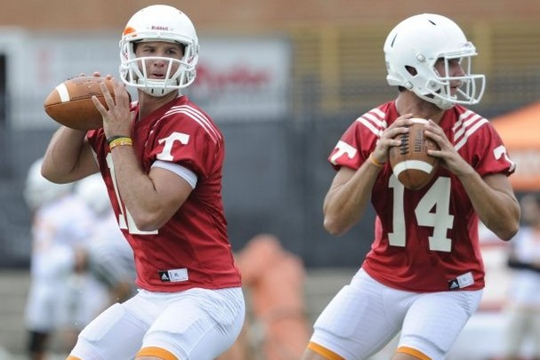 Tennessee Volunteers Football: Butch Jones Will Play the Best Quarterback