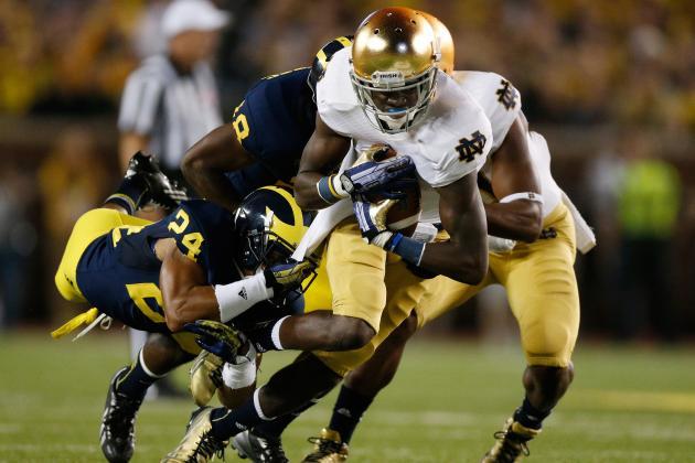 College Football Rankings 2013: Teams in Danger of Losing Top 25 Spots in Week 5