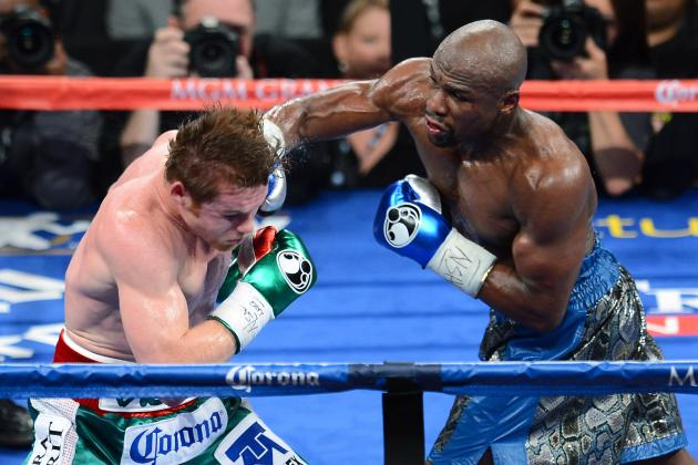 Mayweather vs. Canelo: Perfect Fights for Money to End His Career After Big Win