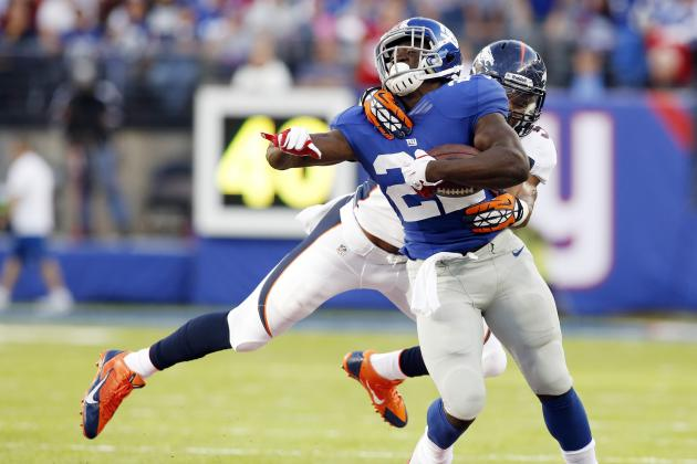 Breaking Down the New York Giants' Struggles in the Running Game