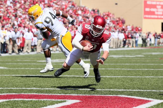 Arkansas Razorbacks Football: QB Brandon Allen's Status Remains Uncertain