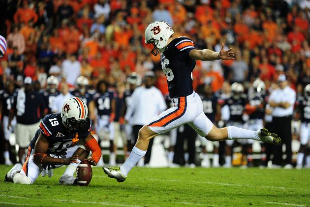 Auburn Tigers Football: Cody Parkey Named Lou Groza Award 'Star of the Week'