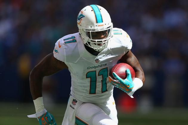Breaking Down How the Miami Dolphins Used Mike Wallace in Week 2