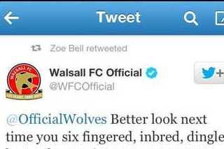 Walsall's Embarrassing Tweet