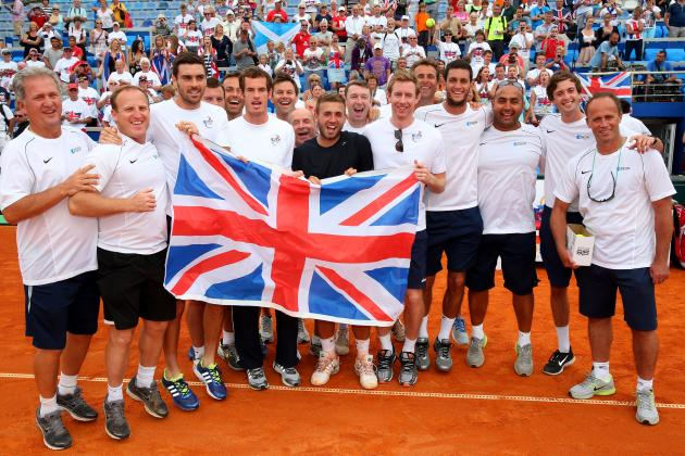 Great Britain Draw USA in First Round of Davis Cup World Group 2014