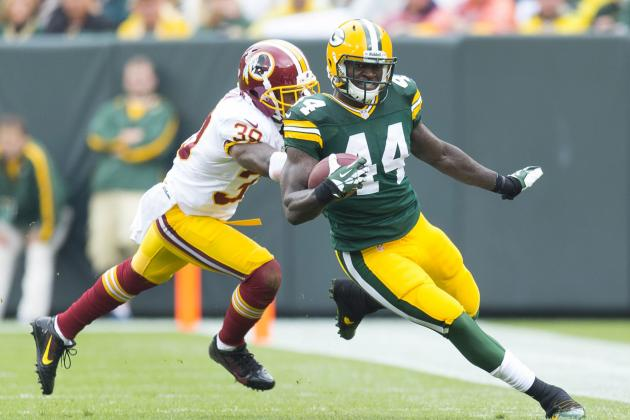 Patient James Starks Runs with His Opportunity