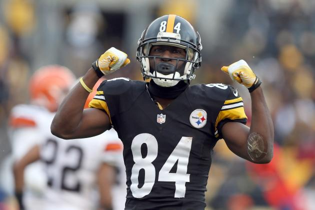 Antonio Brown Reportedly Confronted Todd Haley During Steelers' Loss to Bengals