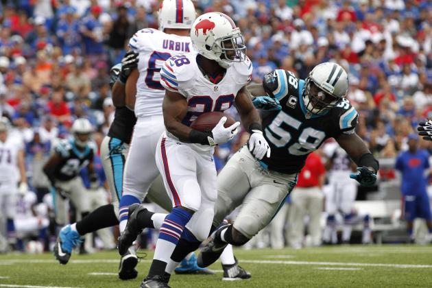 Defense Ready for Bills Running Back C.J. Spiller