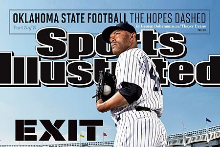 Mariano Rivera Appears on the Cover of Sports Illustrated for the 4th Time