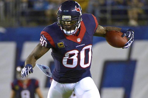 Andre Johnson Injury: Updates on WR's Concussion, Likely Return Date