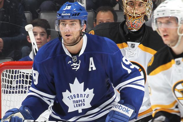 Leafs' Lupul (Back) Makes Camp Debut