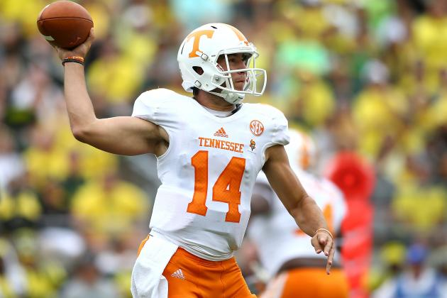 Tennessee Opening Up Its QB Competition Is a Panic Move by Butch Jones
