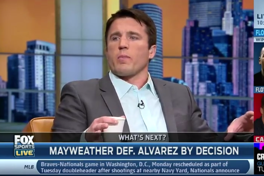 Chael Sonnen Now Making Domestic Violence Jokes About Rihanna