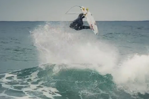 Surfer Jordy Smith Perfects the Backflip for Upcoming Competitions