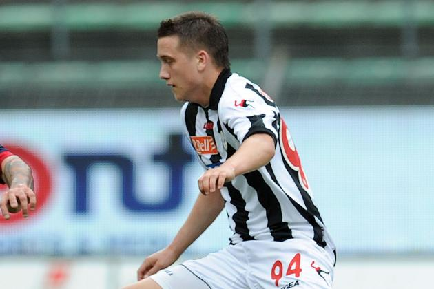 City Increase Scouting of Udinese Forward Piotr Zielinski