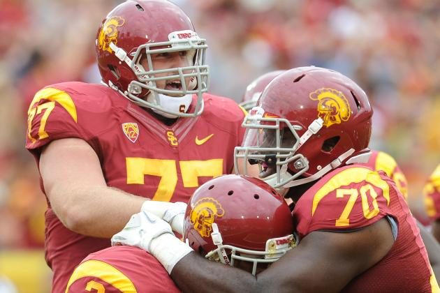 'Good Stuff' Going on with USC O-Line