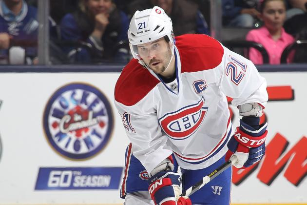 Habs' Gionta Shoots for Late September Return