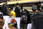 A's Dugout Flooded with Sewage (Again)