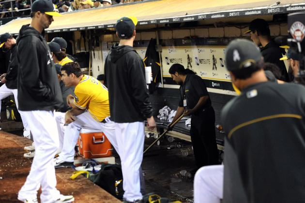 Oakland A's Keep Winning While Their Stadium Keeps Leaking Sewage