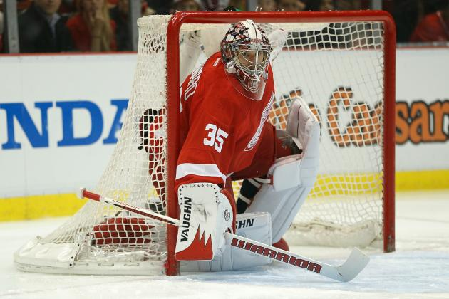 ESPN's Top Goalie Rankings: Red Wings' Jimmy Howard No. 6