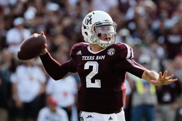 Johnny Manziel Reportedly Considered a First-Round Pick by Multiple NFL Scouts