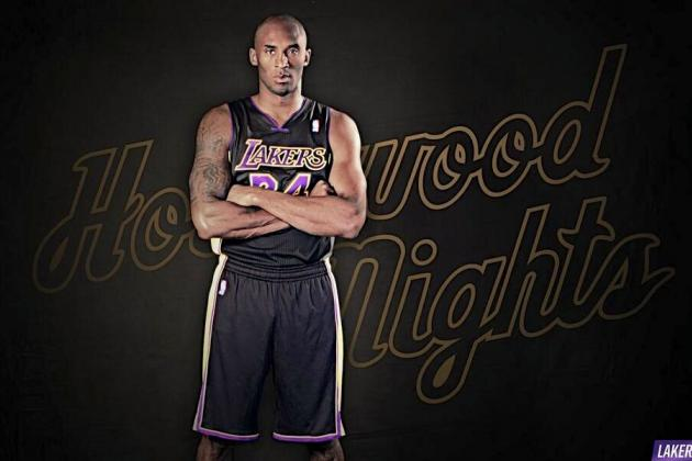 New Lakers Uniforms: LA Unveils Hollywood Nights for 2013-14 Season