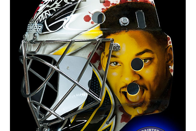 Hockey Goalie Has a 'Fresh Prince of Bel-Air' Hockey Mask