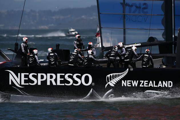 Race 12 Postponed; Kiwis Are Just One Win from the America's Cup