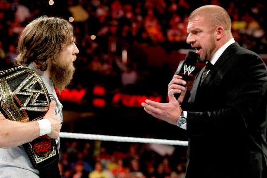 Triple H Must Have a Match as Part of Feud with Daniel Bryan