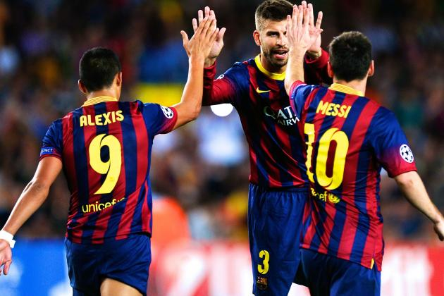 FC Barcelona 4-0 Ajax: Score, Grades and Post-Match Reaction