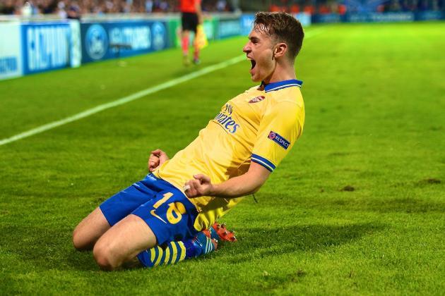 Marseille vs. Arsenal: Action Man Aaron Ramsey is Arsenal's Hero Again