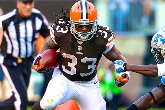 Trent Richardson's Updated 2013 Fantasy Value After Being Traded to Colts