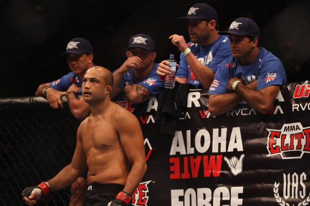 BJ Penn May Train with Jose Aldo for Third Fight Against Frankie Edgar