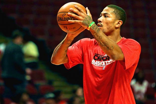 Why Derrick Rose Improving Perimeter Game Is Key to Chicago Bulls Evolution