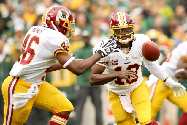 4 Stats That Define the Washington Redskins' Offense