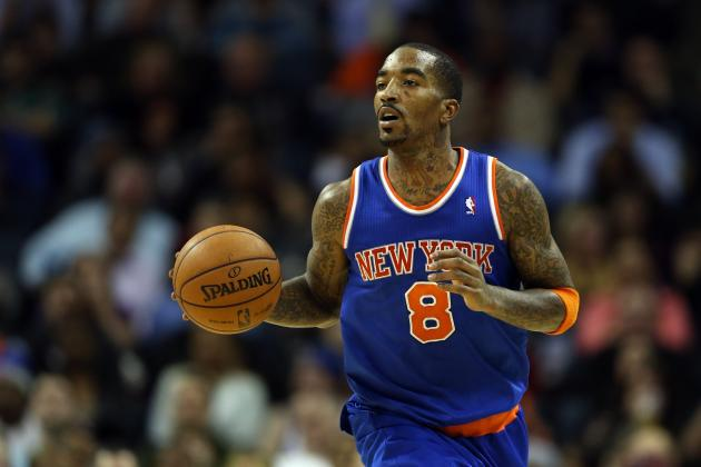 How the NY Knicks Will Cover for J.R. Smith's Early-Season Absence