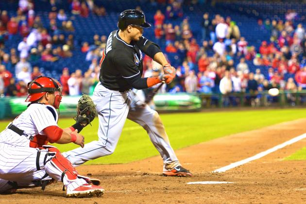 Watch Giancarlo Stanton Launch a Moonshot into Unknown Territory at CBP