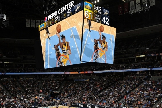 The Nuggets' Massive New Scoreboard Will Blow Your Mind