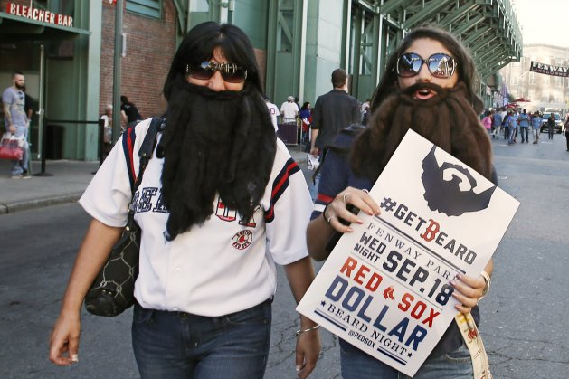 Red Sox Sell $1 Tickets to Bearded Fans in Honor of Team's Facial Hair Craze