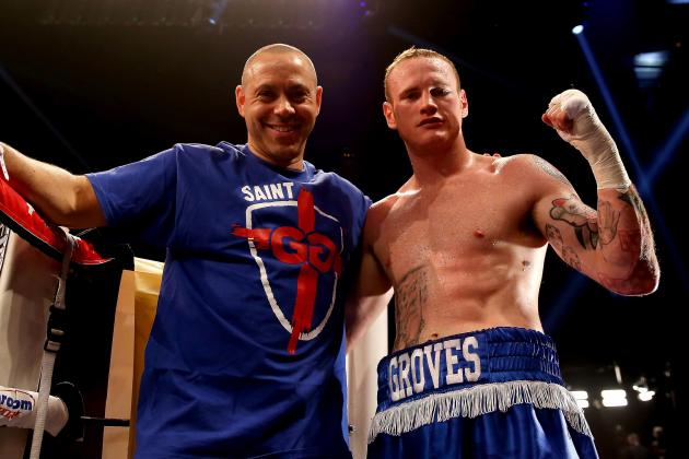 George Groves Split Not Down to Money Disagreement with Adam Booth