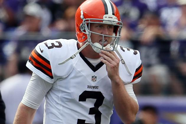Brandon Weeden Isn't Promised Anything When Healthy