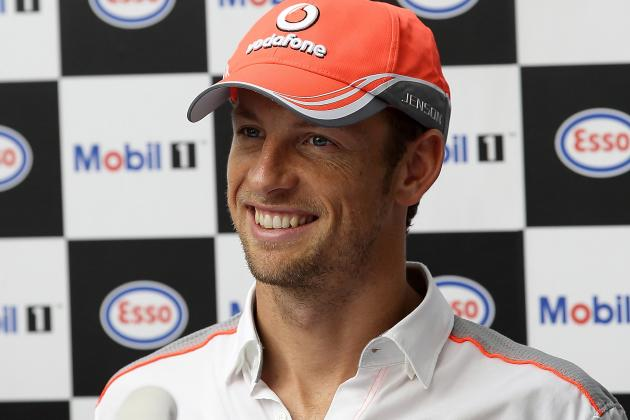 Jenson Button Confirms New Deal to Stay with McLaren Is Done