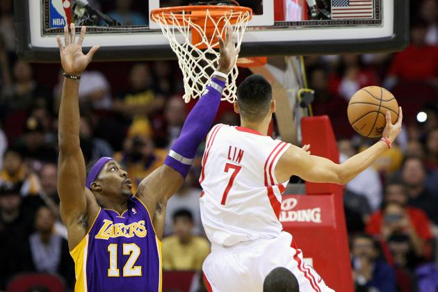 Olajuwon: Dwight Howard, Jeremy Lin 'Combination Is Very Deadly'