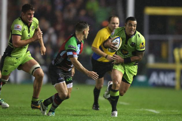 Aviva Premiership 2013: Full Fixture List and Standings Ahead of Week 3