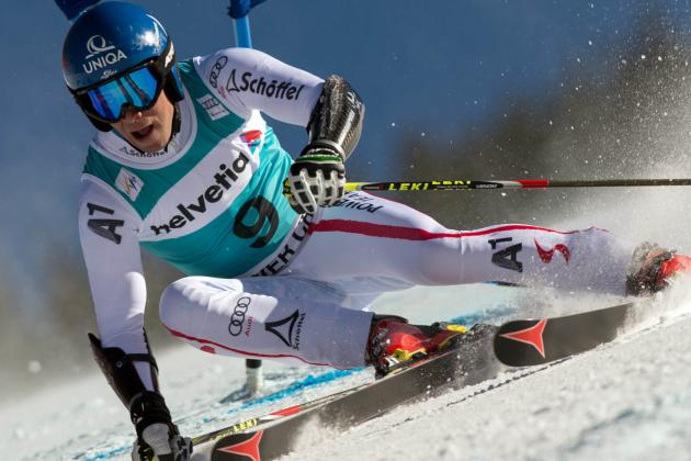 Skier Raich OK After Crash, to Chase 5th Medal