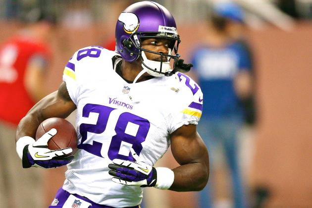 Adrian Peterson Speaks Out on Fantasy Football Players