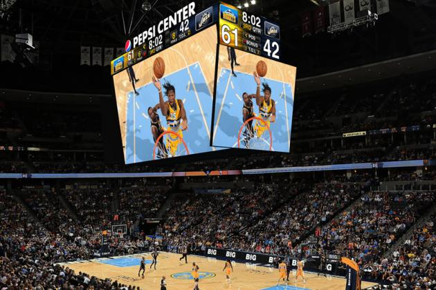 Denver Nuggets' New Scoreboard Is a Giant, Beautiful Monstrosity