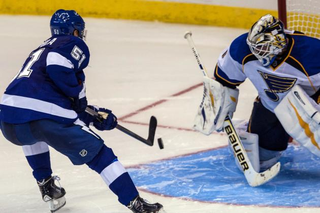 St. Louis Blues at Tampa Bay Lightning Game Recap
