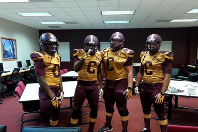 Photos: Central Michigan to Wear Throwback Uniforms This Saturday